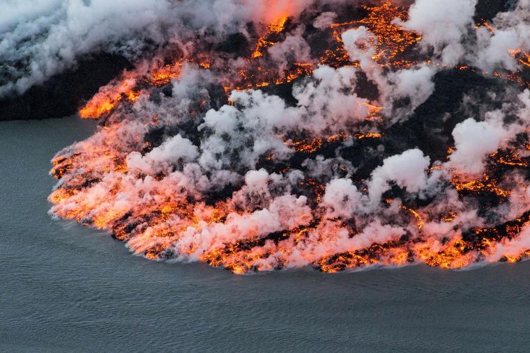 Image:  Bardarbunga volcano in southeast Iceland