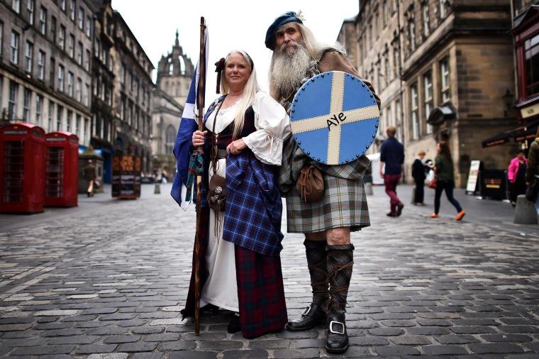 Image: BRITAIN-SCOTLAND-INDEPENDENCE-VOTE