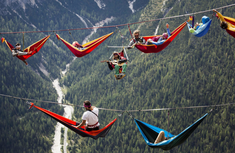 Image: International Highline Meeting in Monte Piana