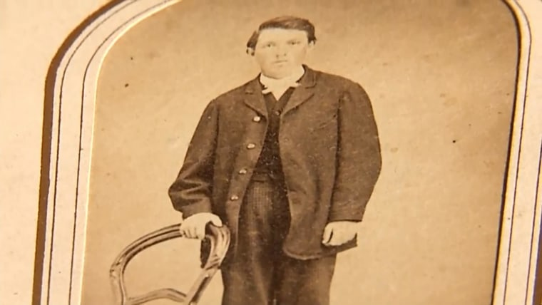 Image: A photograph allegedly of Billy the Kid