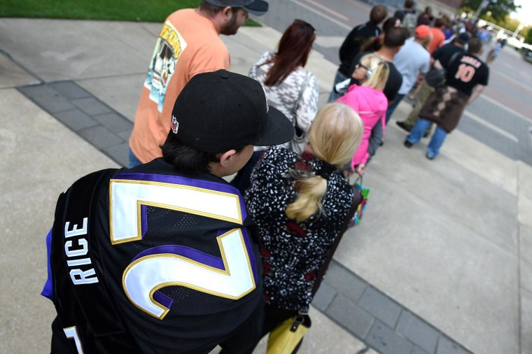 ea1be02c5 Image  Baltimore Ravens Offer Fan Option To Exchange Ray Rice Jerseys