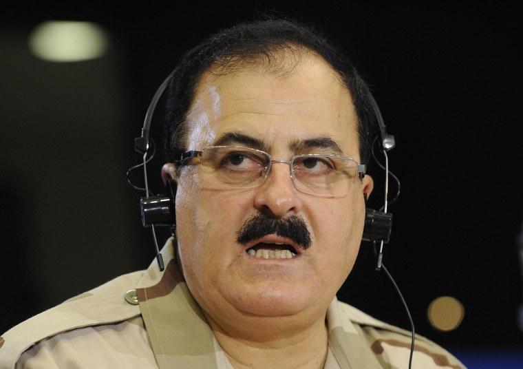 Image: Chief commander of the Free Syrian Army Brigadier General Selim Idriss