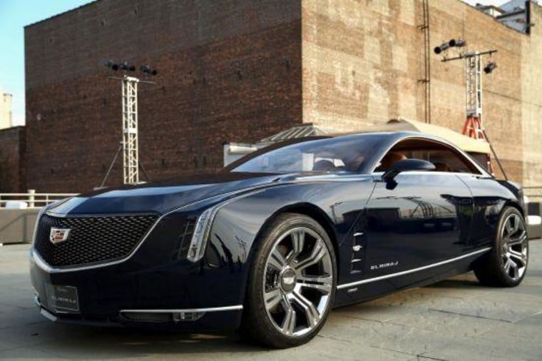Cadillac's new flagship sedan could look similar to the Elmiraj concept car.