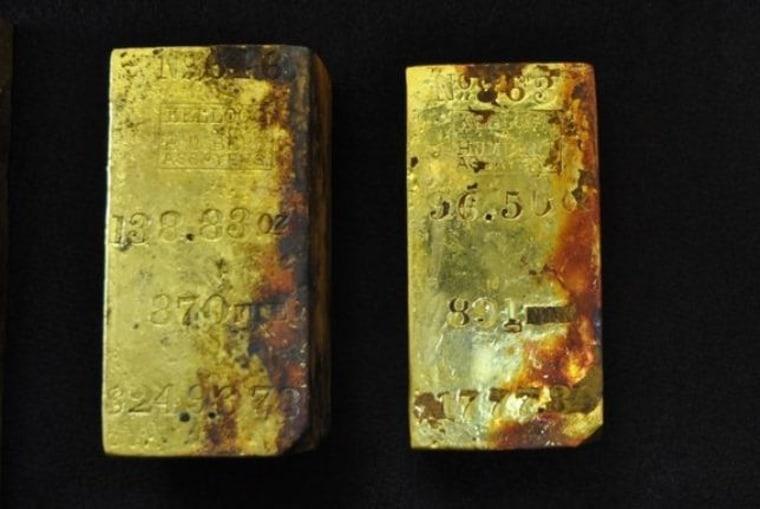 Image: Gold bars