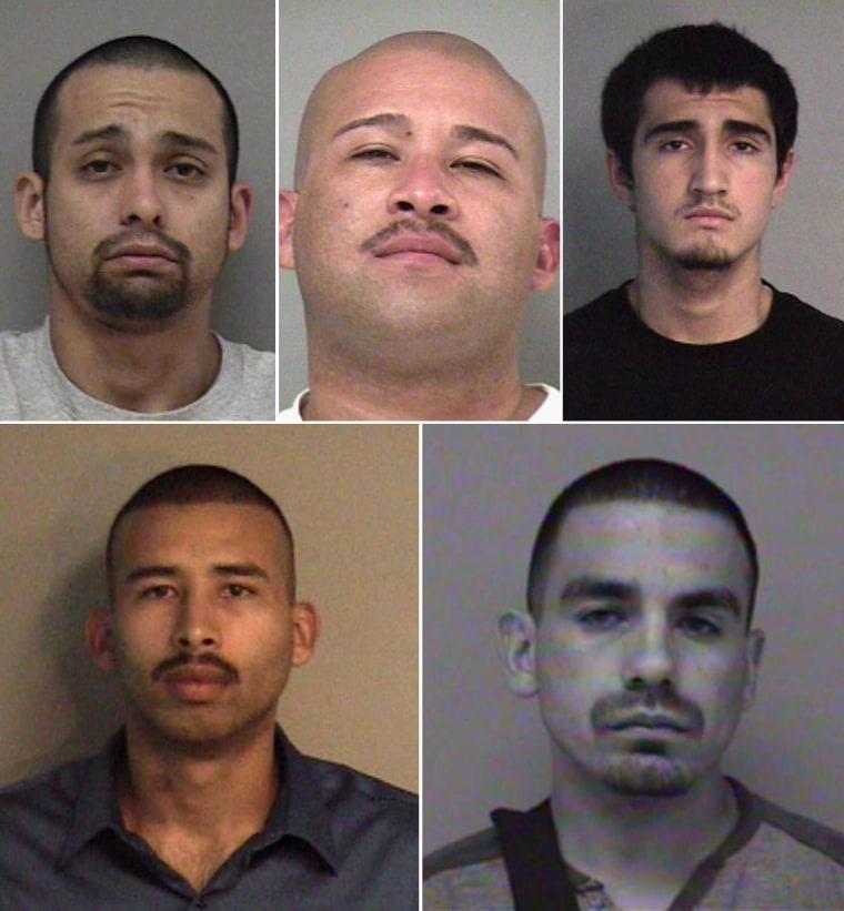 Clockwise from top left: Abel Ramos, Juan Lopez, Ricardo Cendejas, Jorge Diaz, Roel Soliz