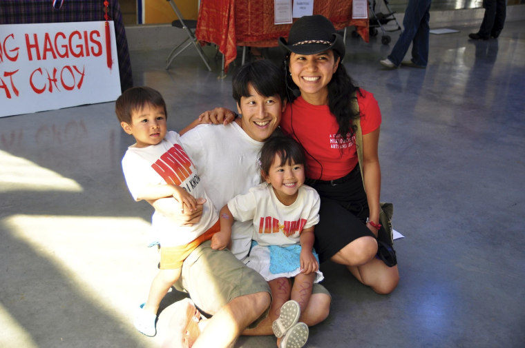 Hapa-palooza bills itself as one of the world's largest gatherings of mixed heritage and hybrid identity.