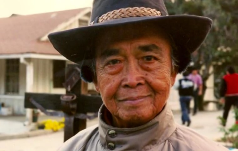 """Maj. Gen. Tony Taguba said he wanted to be remembered as """"a good family man and a great soldier who did his best to serve his country and contributed to the wealth and power of our nation."""" in a new short documentary produced by the AARP."""