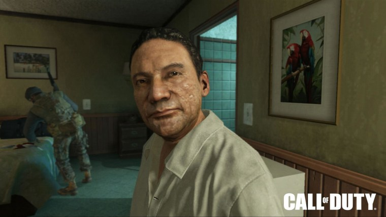 """Image: Manuel Noriega is depicted in the video game """"Call of Duty: Black Ops II."""""""