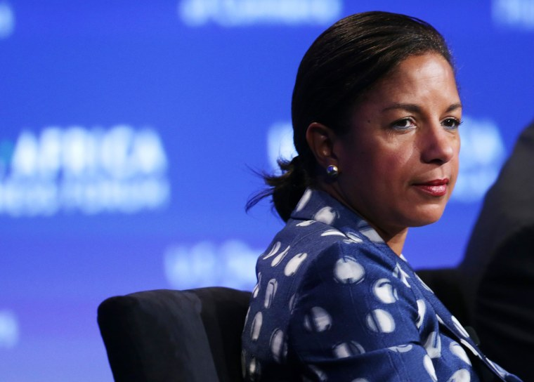 Image: National Security Adviser Susan Rice