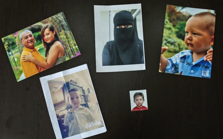 Image: Family photos of Asiya Ummi Abdullah and her Destan