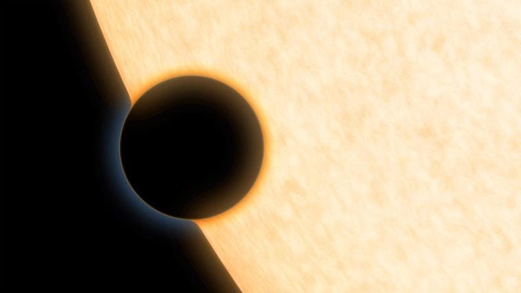 Seeing Starlight Through a Planet's Rim