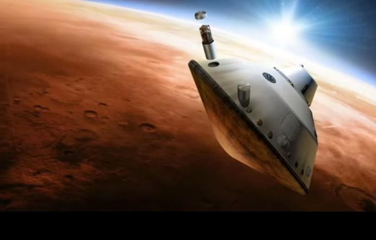 Image: Mars probe