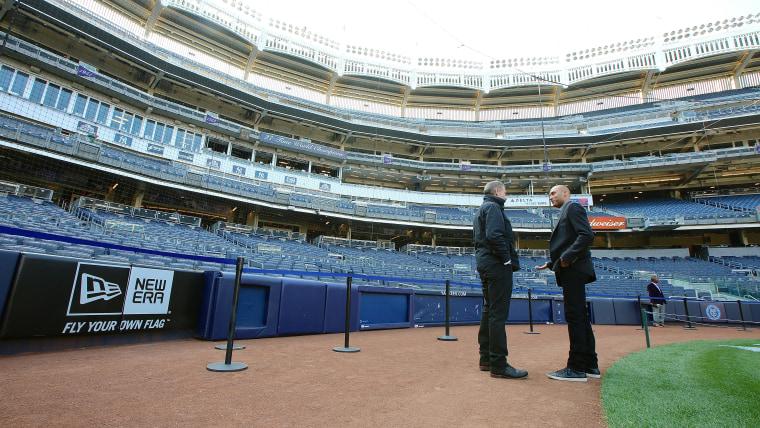 Image: Brian Williams and Derek Jeter