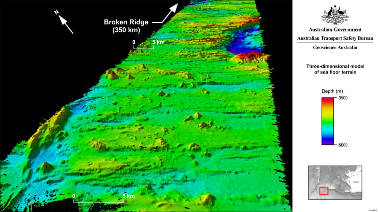 Image: New image of ocean floor in MH370 search zone