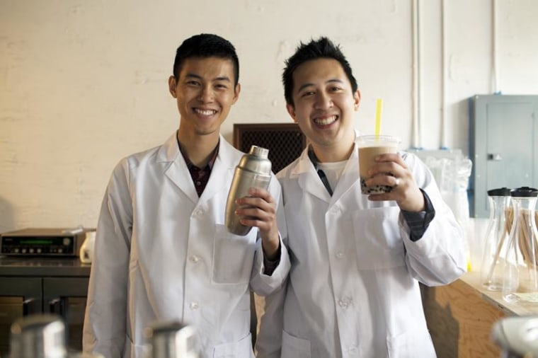 Boba Guys co-founders Bin Chen (left) and Andrew Chau (right)