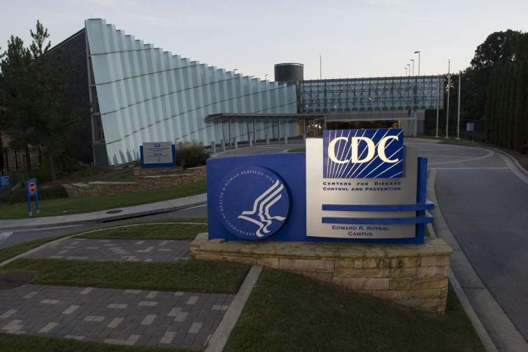Image: Centers for Disease Control and Prevention announce first Ebola case diagnosed in the USA.