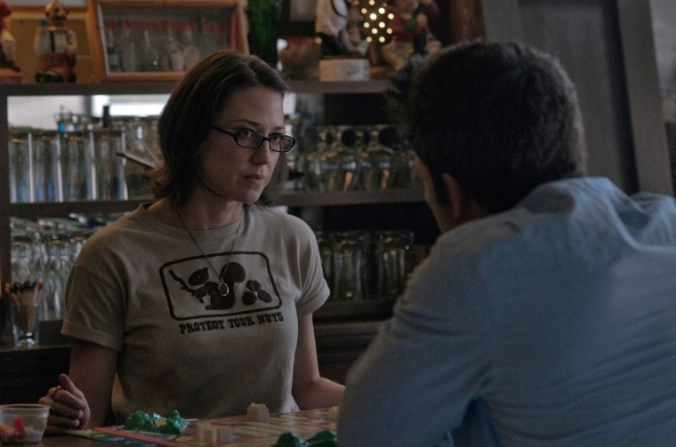 """Image: Carrie Coon in \""""Gone Girl\"""""""