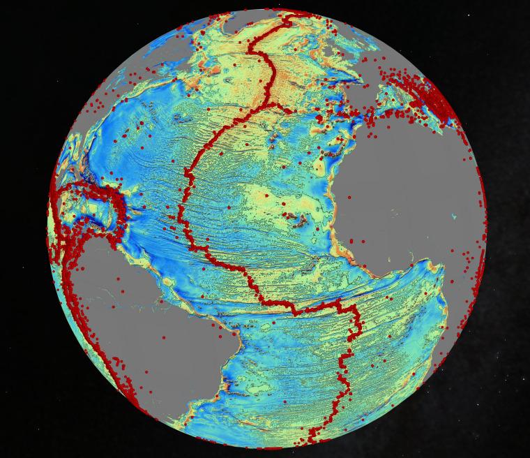 Image: Atlantic quakes