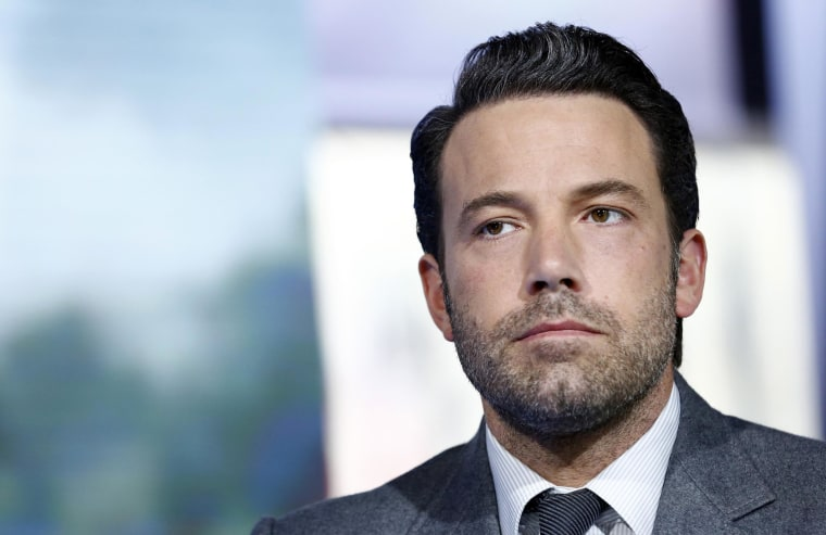 "Ben Affleck appears on NBC News' ""Today"" show."
