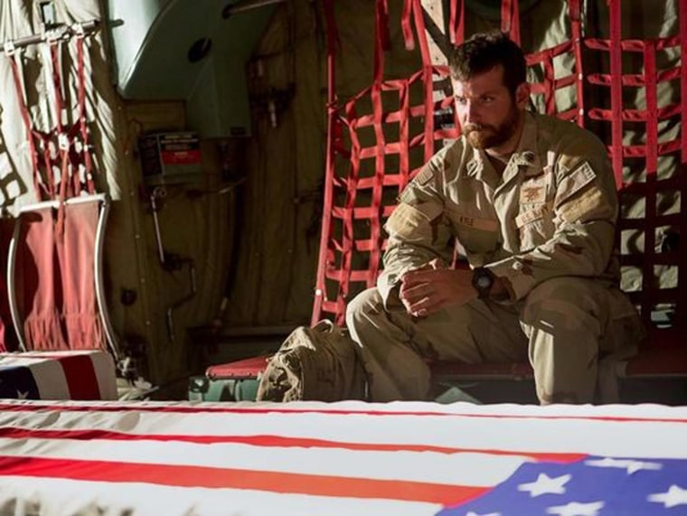 "Image: Bradley Cooper in trailer for ""American Sniper"""