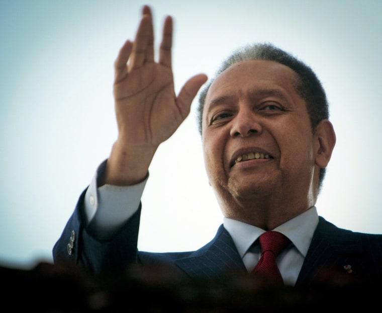Image: FILE: Former Haiti Dictator Jean-Claude Duvalier Dies