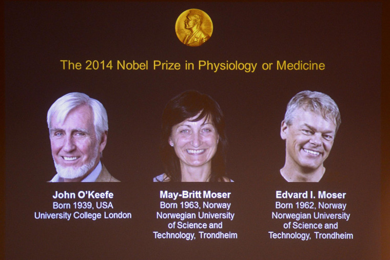 Image: Nobel prize winners