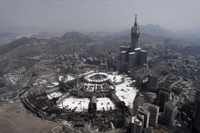 Image: TOPSHOTS-SAUDI-RELIGION-ISLAM-HAJJ