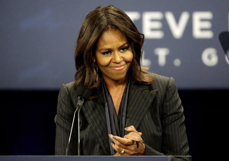 Image: Michelle Obama, Martha Coakley