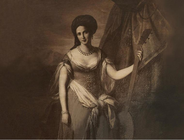María de las Mercedes Santa Cruz y Montalvo