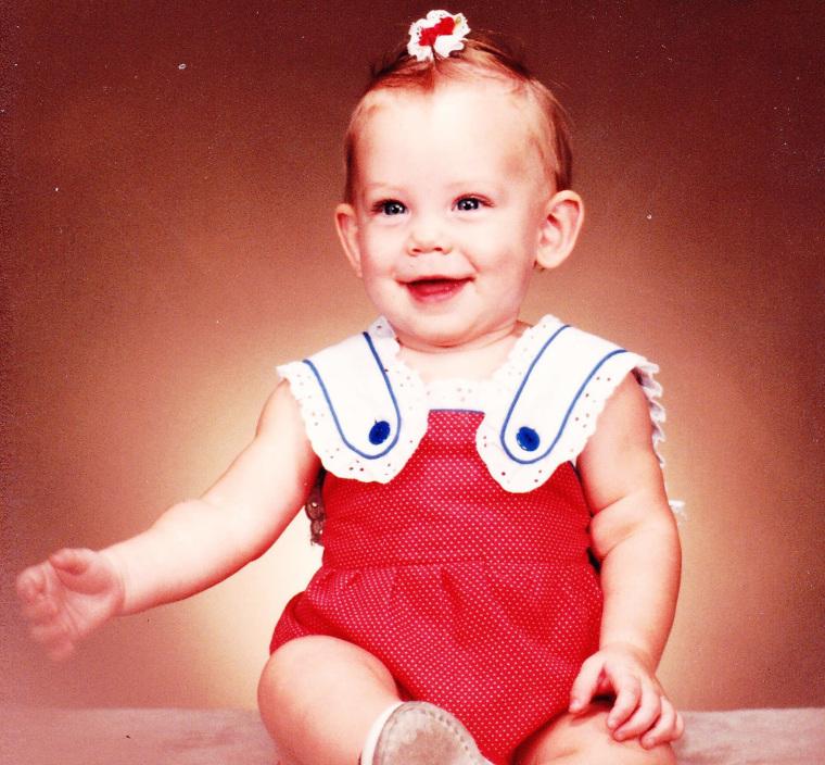 Image: Brittany Maynard as a smallchild
