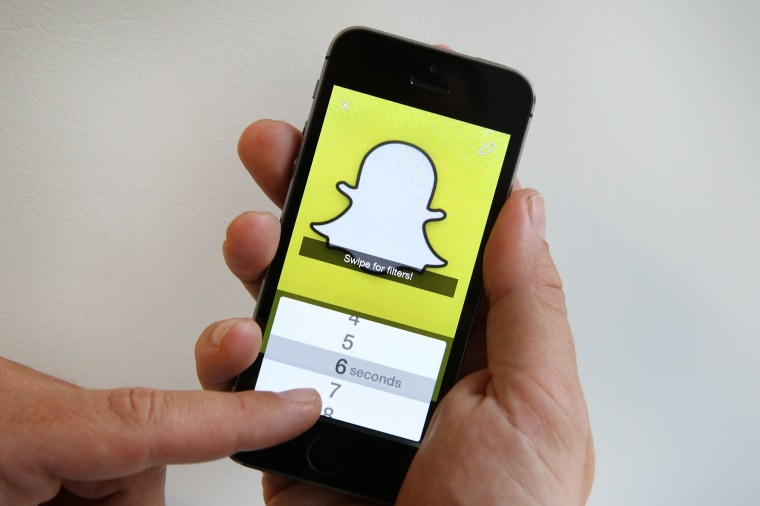 Image: Snapchat app