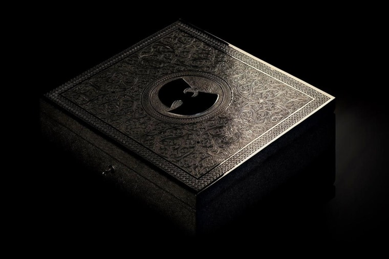 """The elaborately decorated case that will contain Wu-Tang's """"Once Upon a Time in Shaolin."""""""