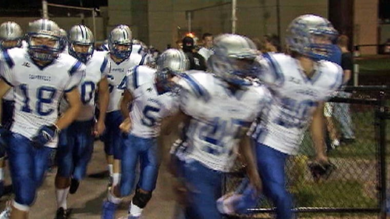 Sayreville High School in New Jersey has canceled the rest of its football season amid allegations of hazing, officials say.