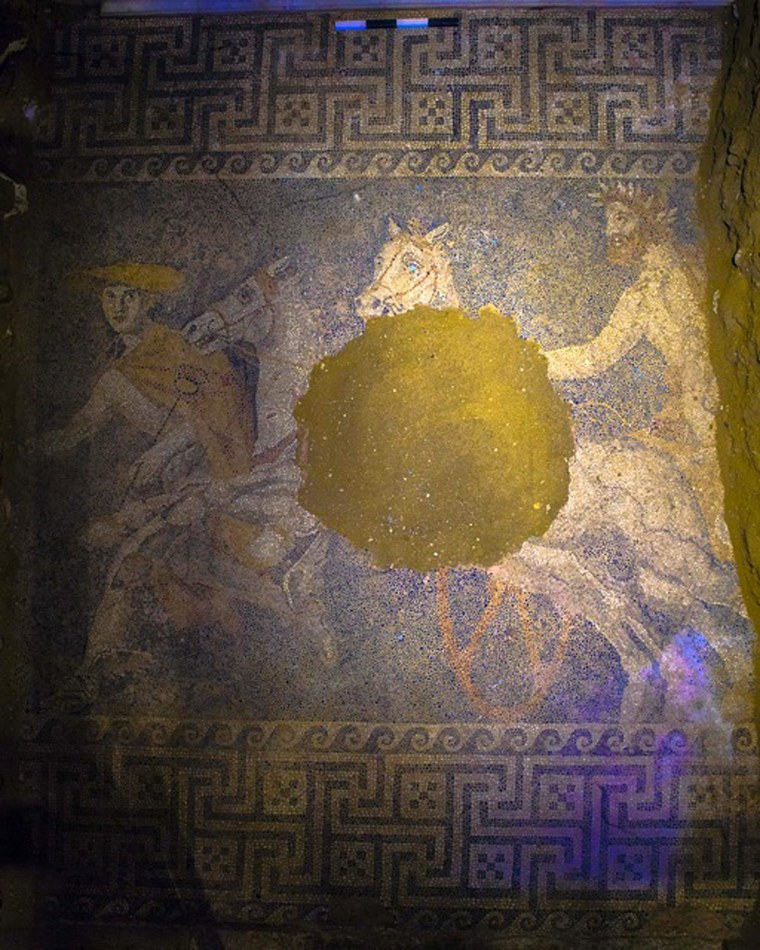 Image: Amphipolis mosaic