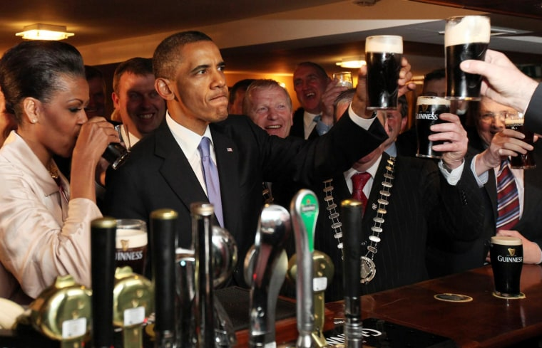 Image: President Obama visits Ireland in 2011