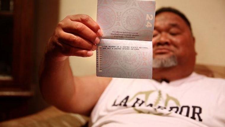 American Samoans fight for full citizenship rights.