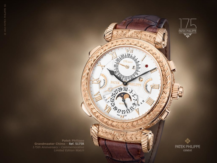 To commemorate its 175th anniversary, Swiss luxury watchmaker Patek Philippe has unveiled a $2.6 million wristwatch.