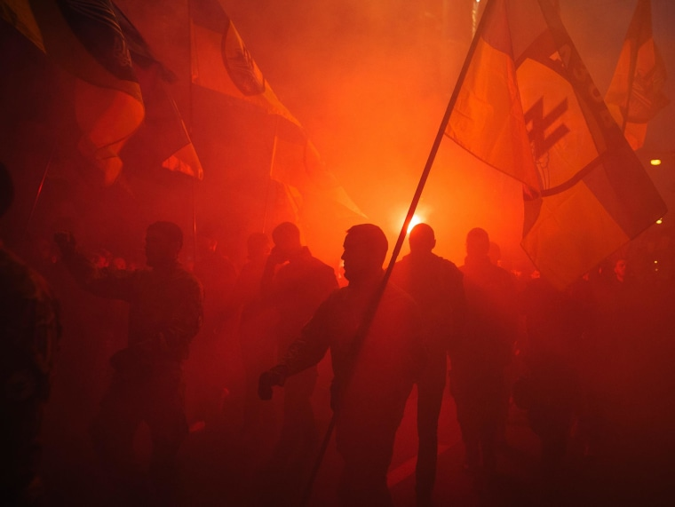 Image: A rally in Kiev