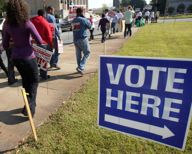 Image: polling place