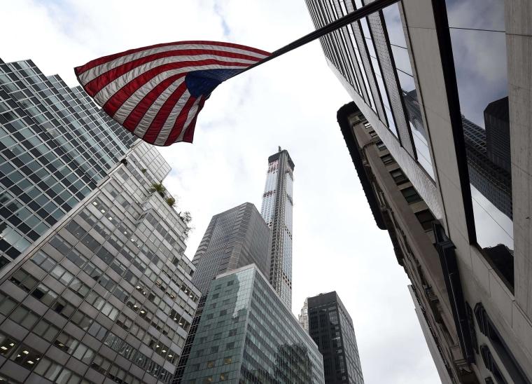 Image: A view of 432 Park Avenue