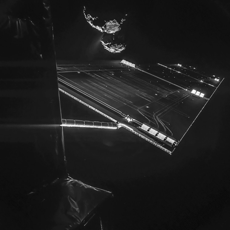 Image: Comet 67P/ChuryumovGerasimenko
