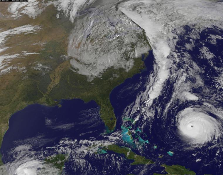 Image: Hurricane Gonazalo Satellite View