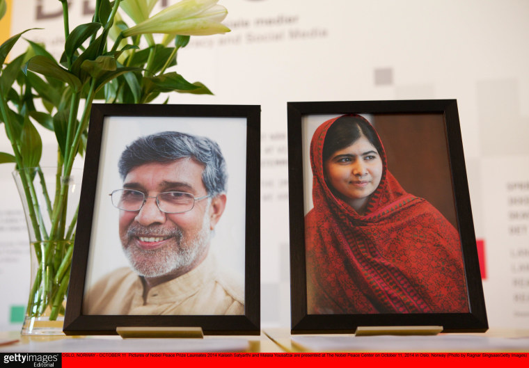 Image: Nobel Prize Laureates Press Conference