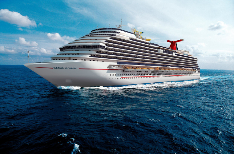 Image: Carnival Magic cruise ship.