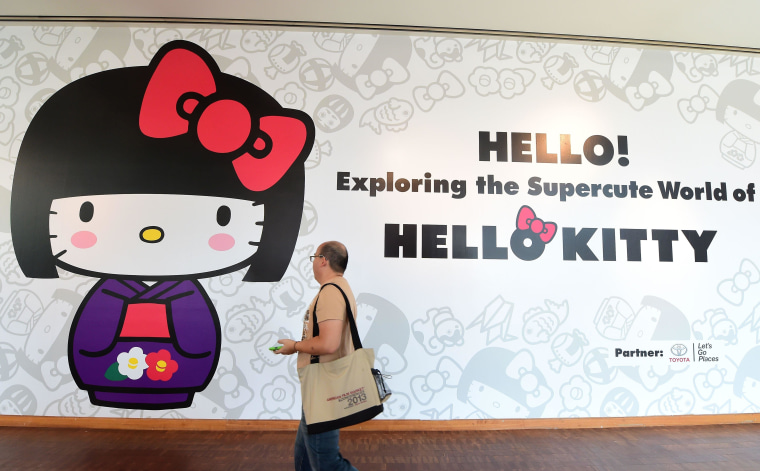 Image: US-JAPAN-ENTERTAINMENT-ANNIVERSARY-HELLO KITTY