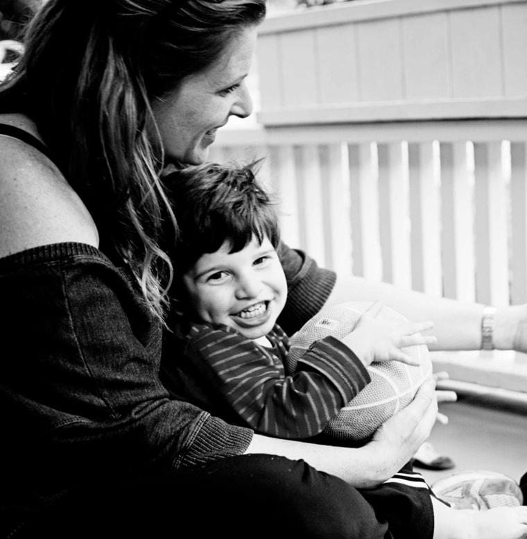 Audrey Lapidus was relieved when a new kind of genetic test finally diagnosed a developmental delay affecting her son Calvin, who is now 3.