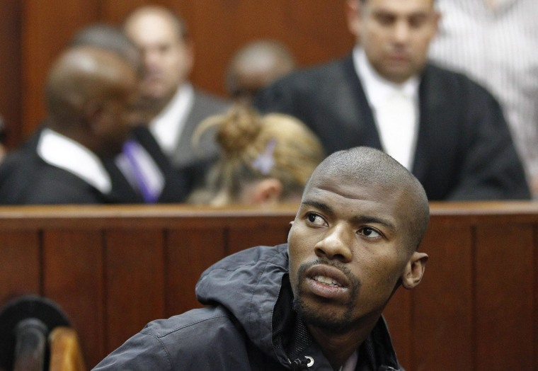 Image: South African Xolile Mngeni jailed for Dewani murder dies in prison