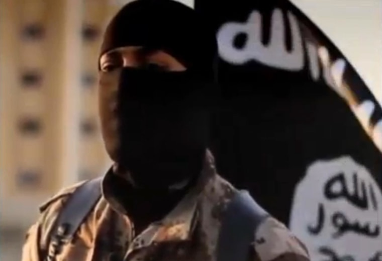 An ISIS militant