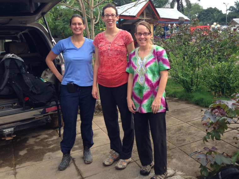 Image:Anne Purfield, Melissa Rolfes and Michelle Dynes