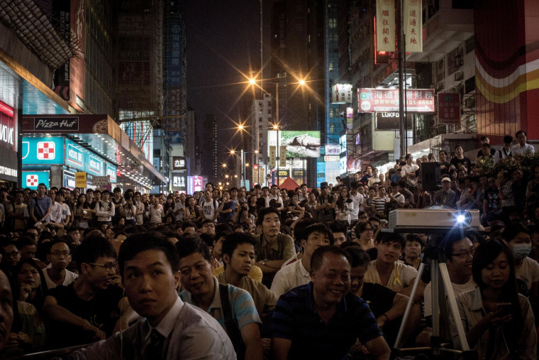 Image: Hong Kong Pro-Democracy Rallies Enter Week Four Despite Police Efforts To Clear The Streets
